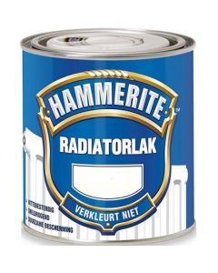 Radiatorverf RAL9010 250ml